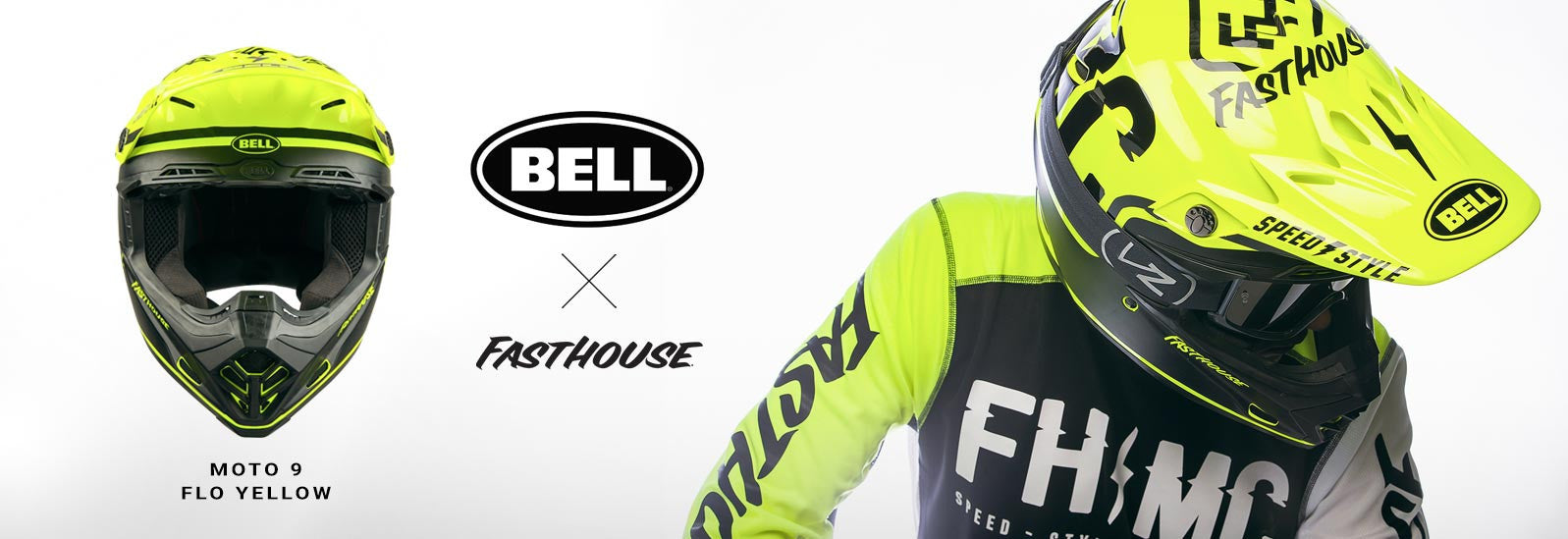 Bell + Fasthouse Moto 9