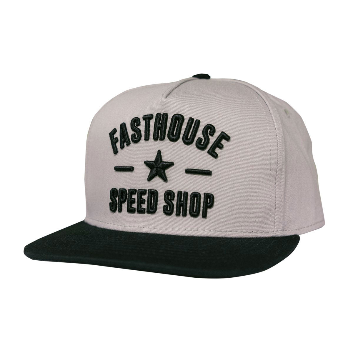 Fasthouse - Speed Star Hat - Grey/Black