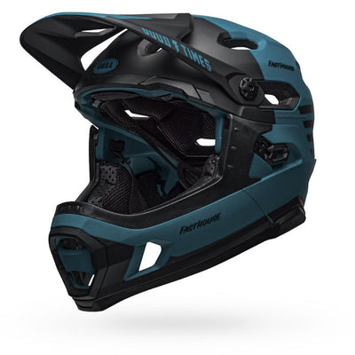 Fasthouse - Bell Super DH MTB Helmet - Blue/Black