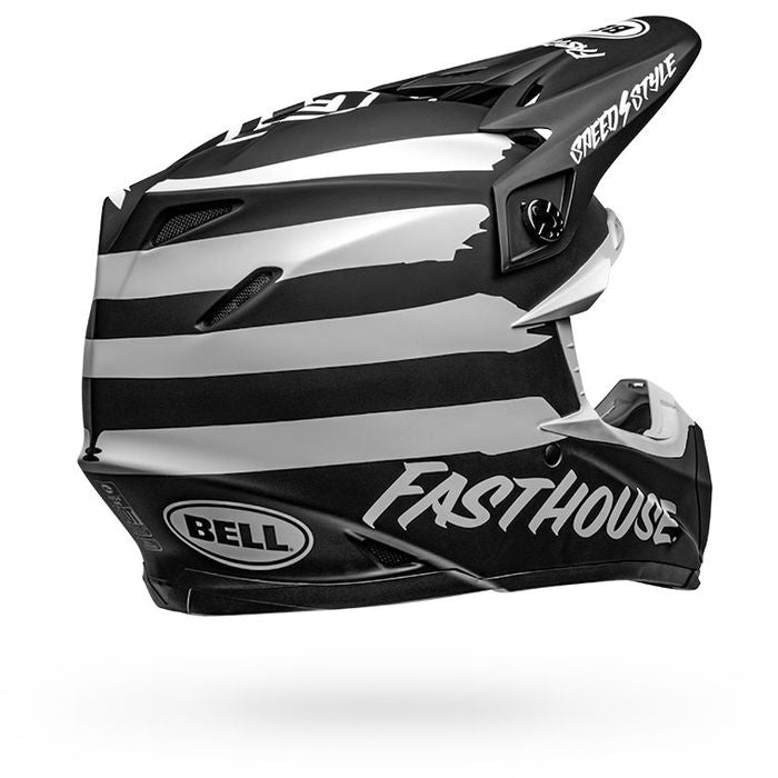Fasthouse - Bell Moto 9 MIPS FH Signia Helmet Black/White 2019