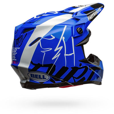 Fasthouse - Bell Day in the Dirt 22 Moto-9 Flex Helmet