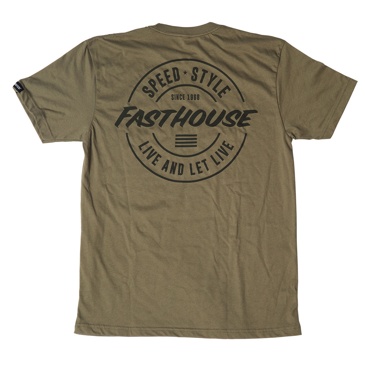 Fasthouse - Horizon Tee - Military Green
