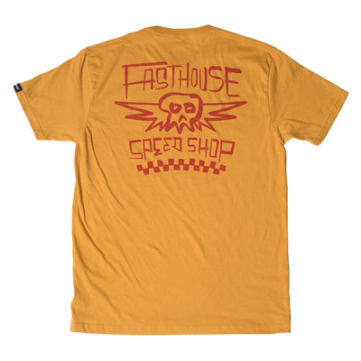 Fasthouse - Midway Tee - Vintage Gold