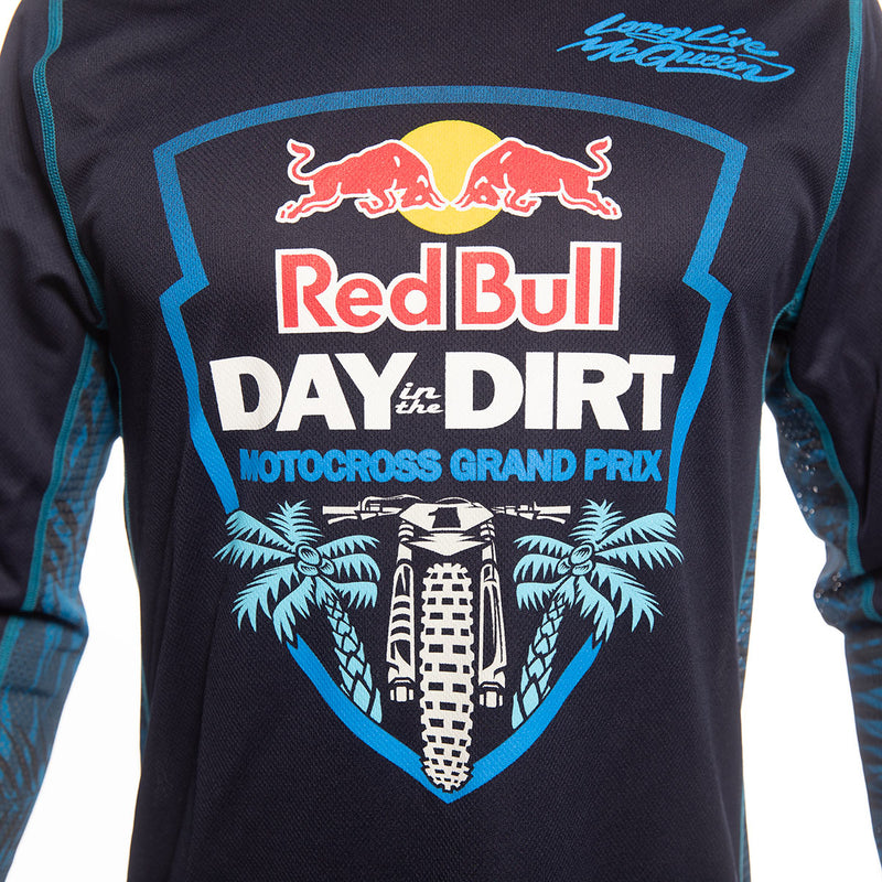 Red Bull Day in the Dirt Down South Jersey - Navy/White