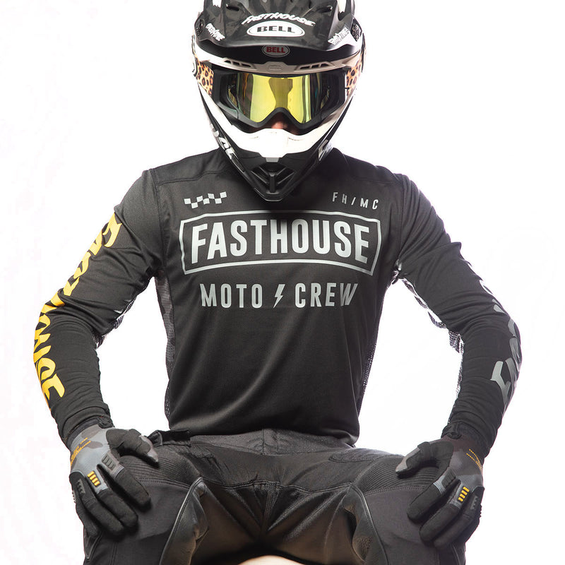 Strike Off-Road Jersey - Black/Camo