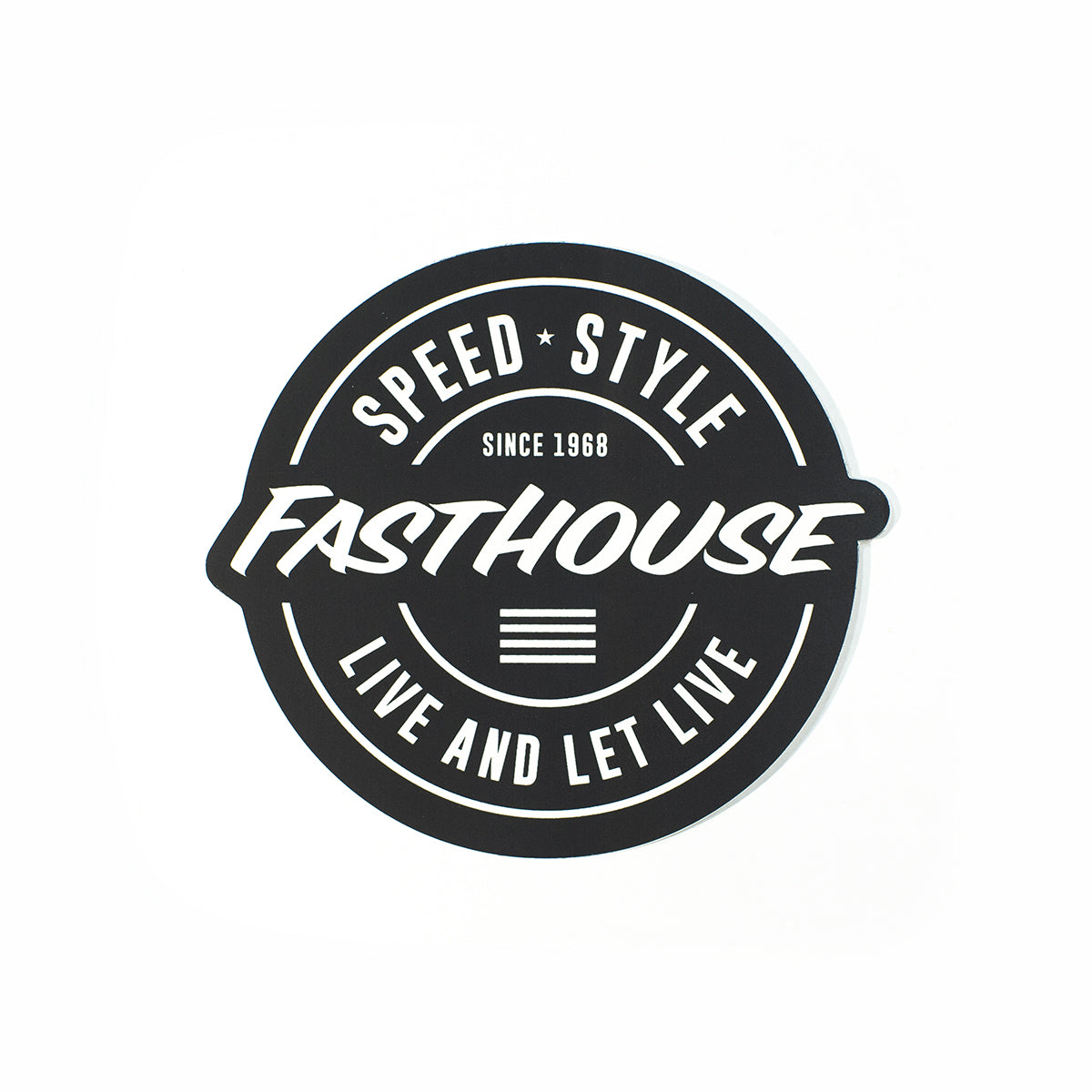 Fasthouse - Four Stripes Sticker