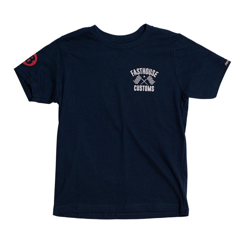 68 Trick Youth Tee - Midnight Navy