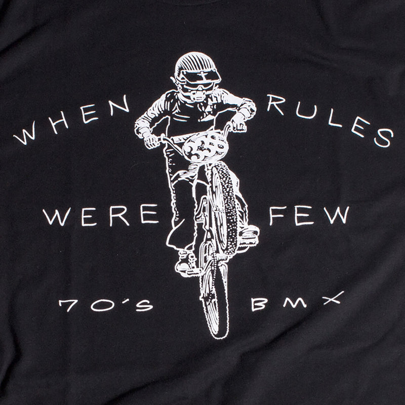Fasthouse - 70's BMX Tee - Black