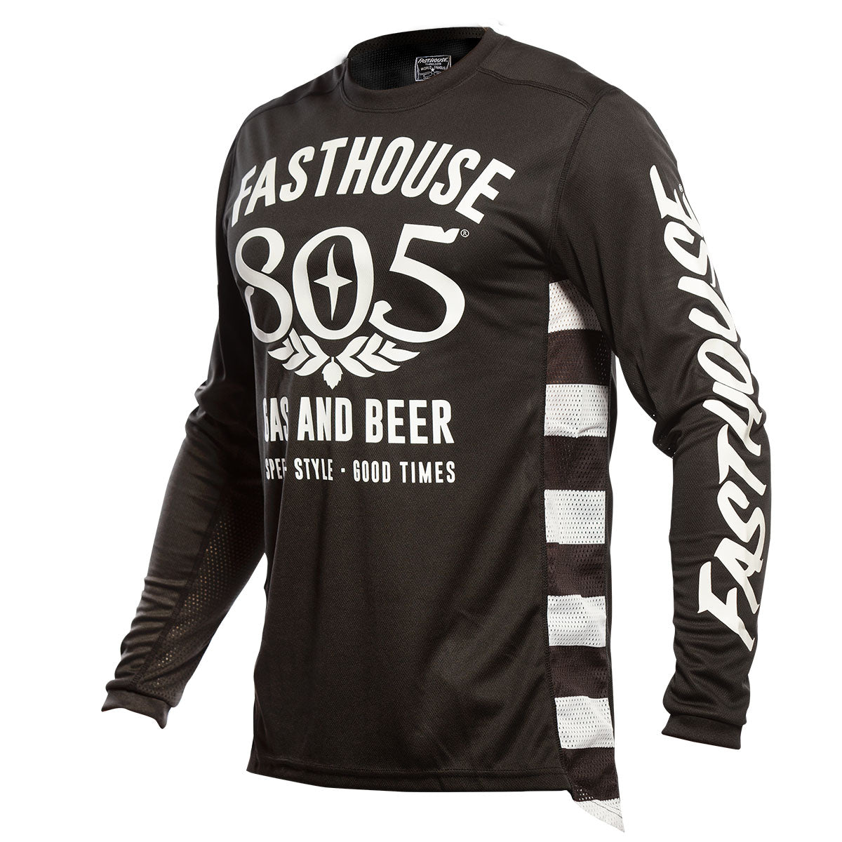 805 Gas & Beer Jersey - Black