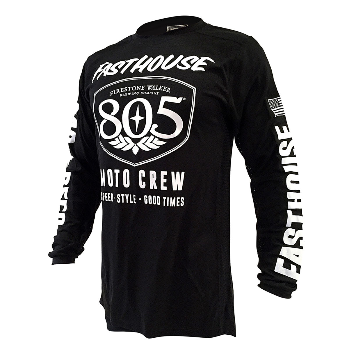Fasthouse - 805 Shield Jersey - Black