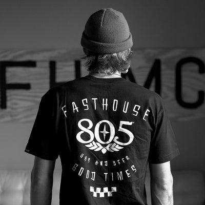 Fasthouse - 805 Checkers Tee - Black