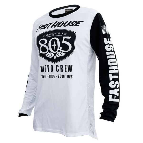 805 Shield Jersey White