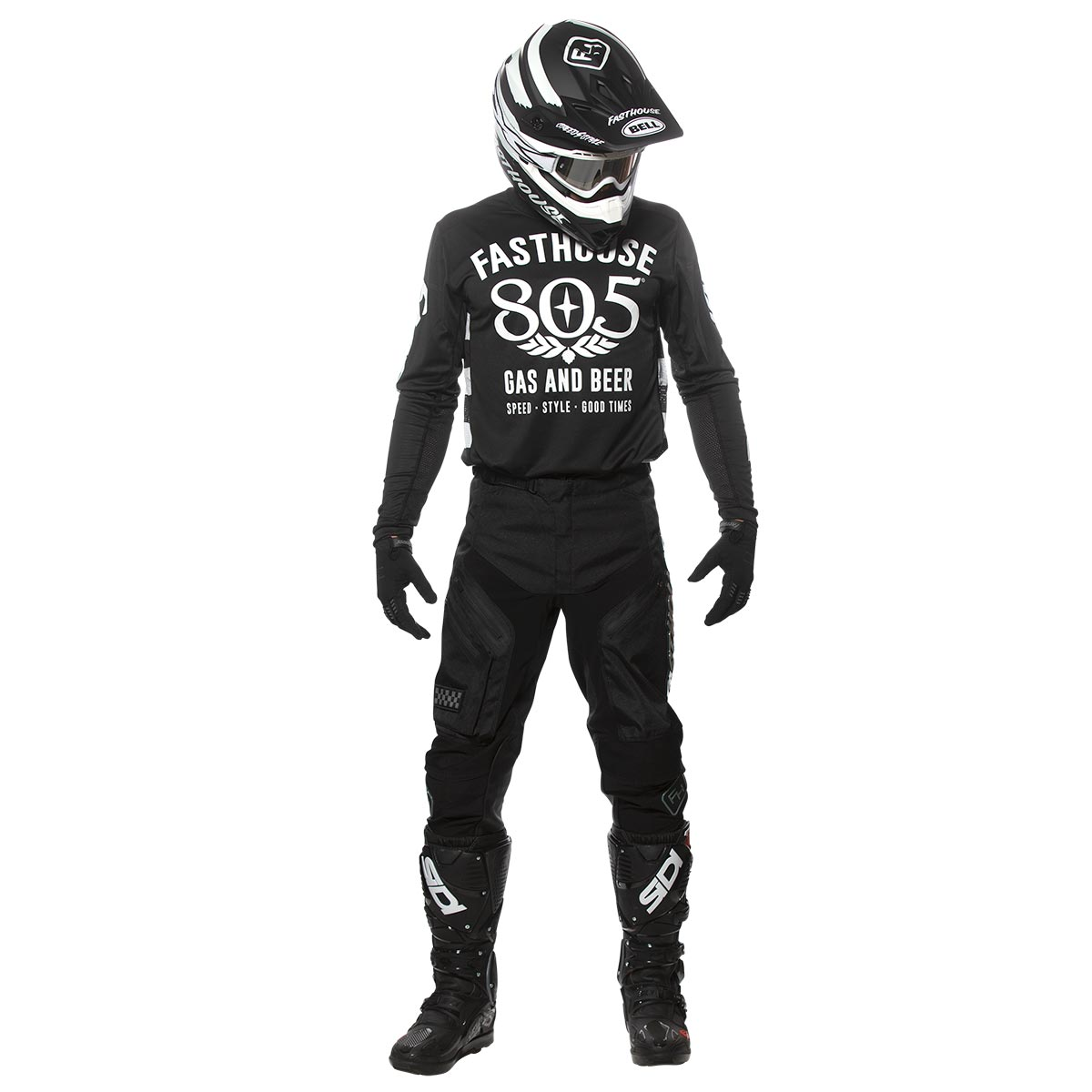 805 Gas and Beer Jersey - Black