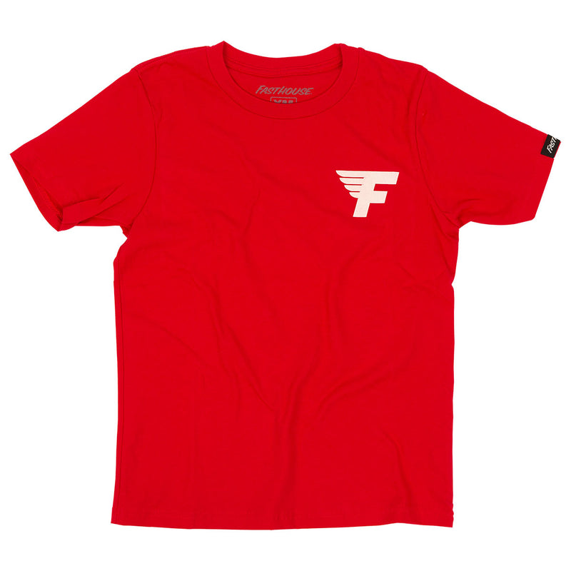 Fast Cycles Youth Tee - Red