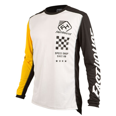 Fasthouse - Icon L1 Jersey - White/Yellow