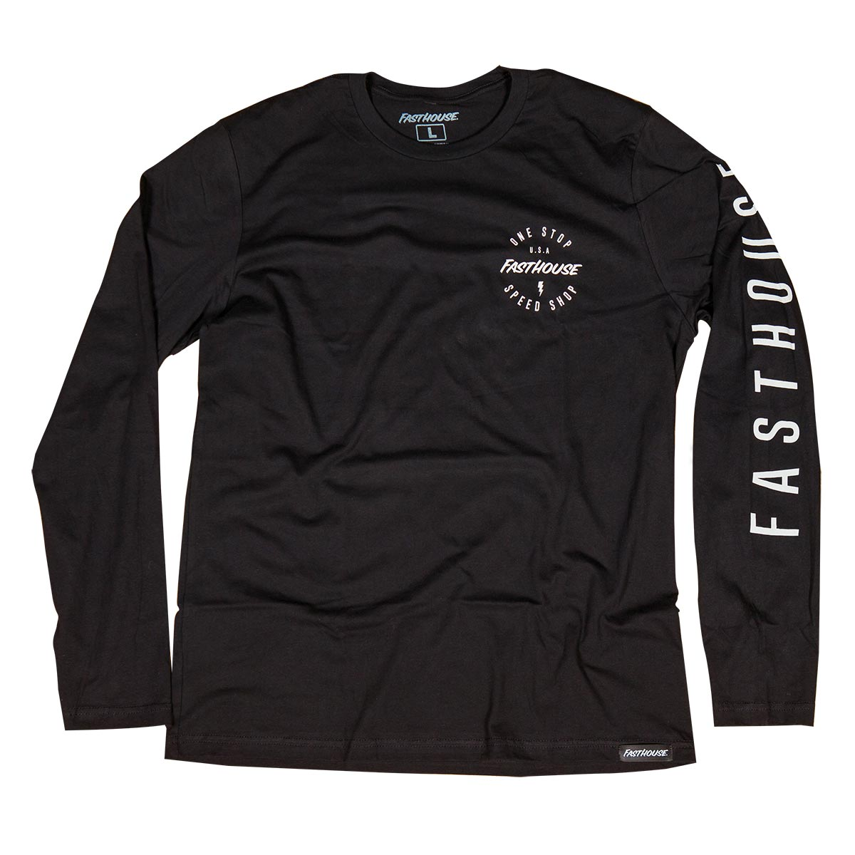Simple LS Tee - Black