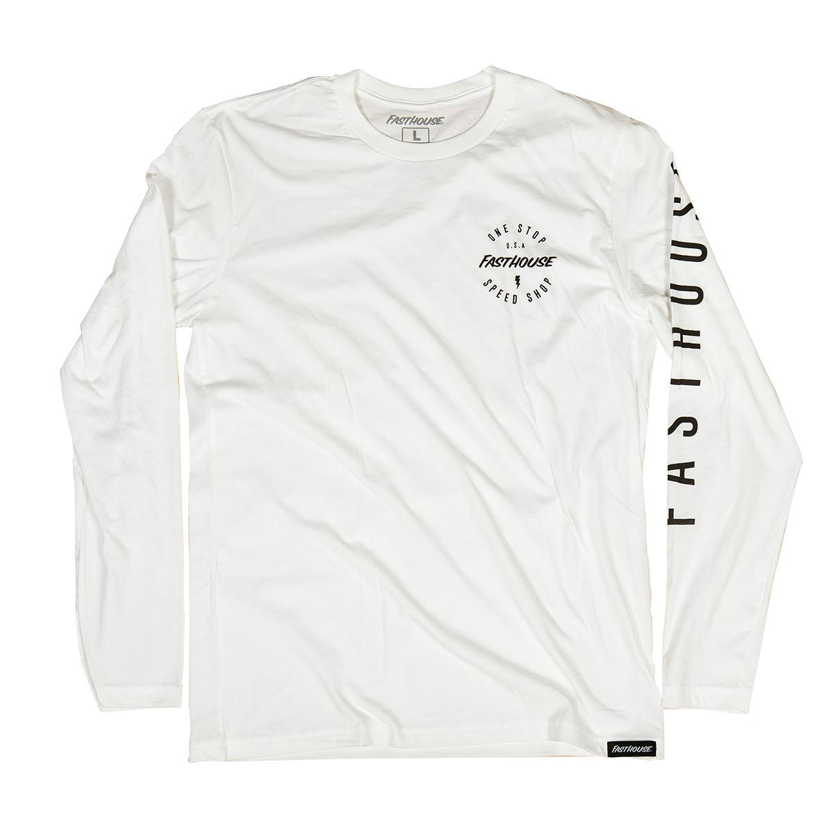 Fasthouse - Simple LS Tee - White