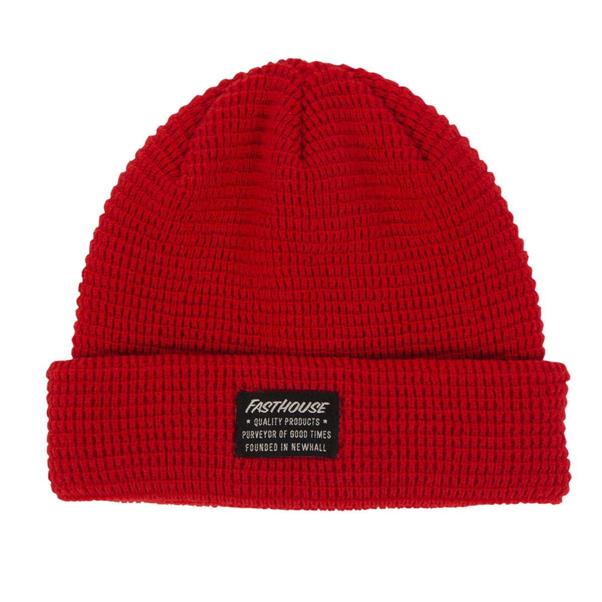 Fasthouse - Waffle Beanie - Red