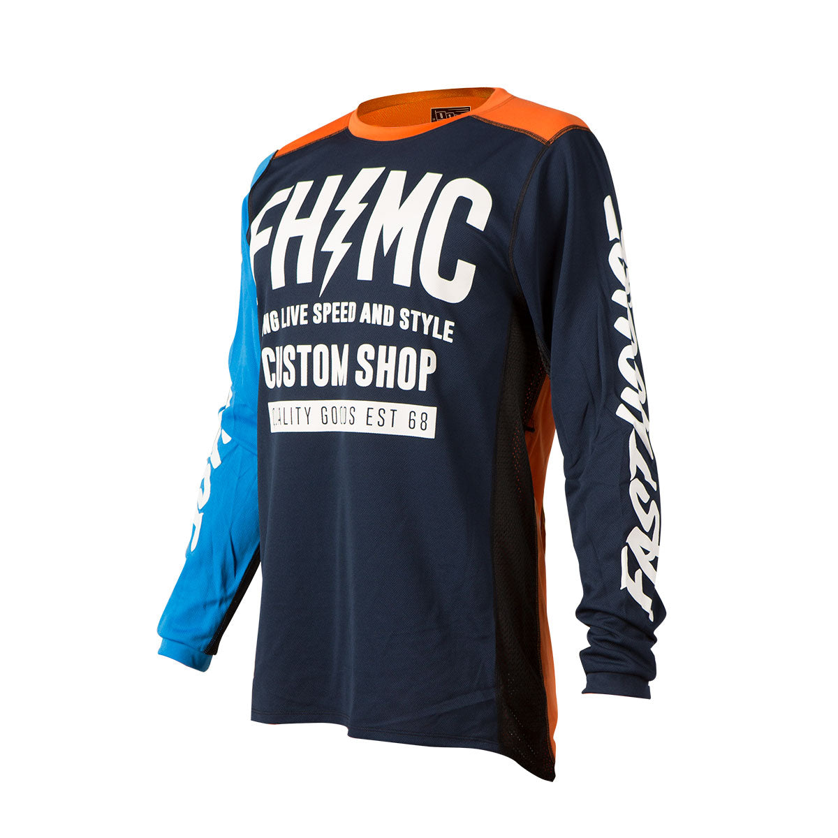 Fasthouse - Long Live MC Youth Jersey - Blue/Orange