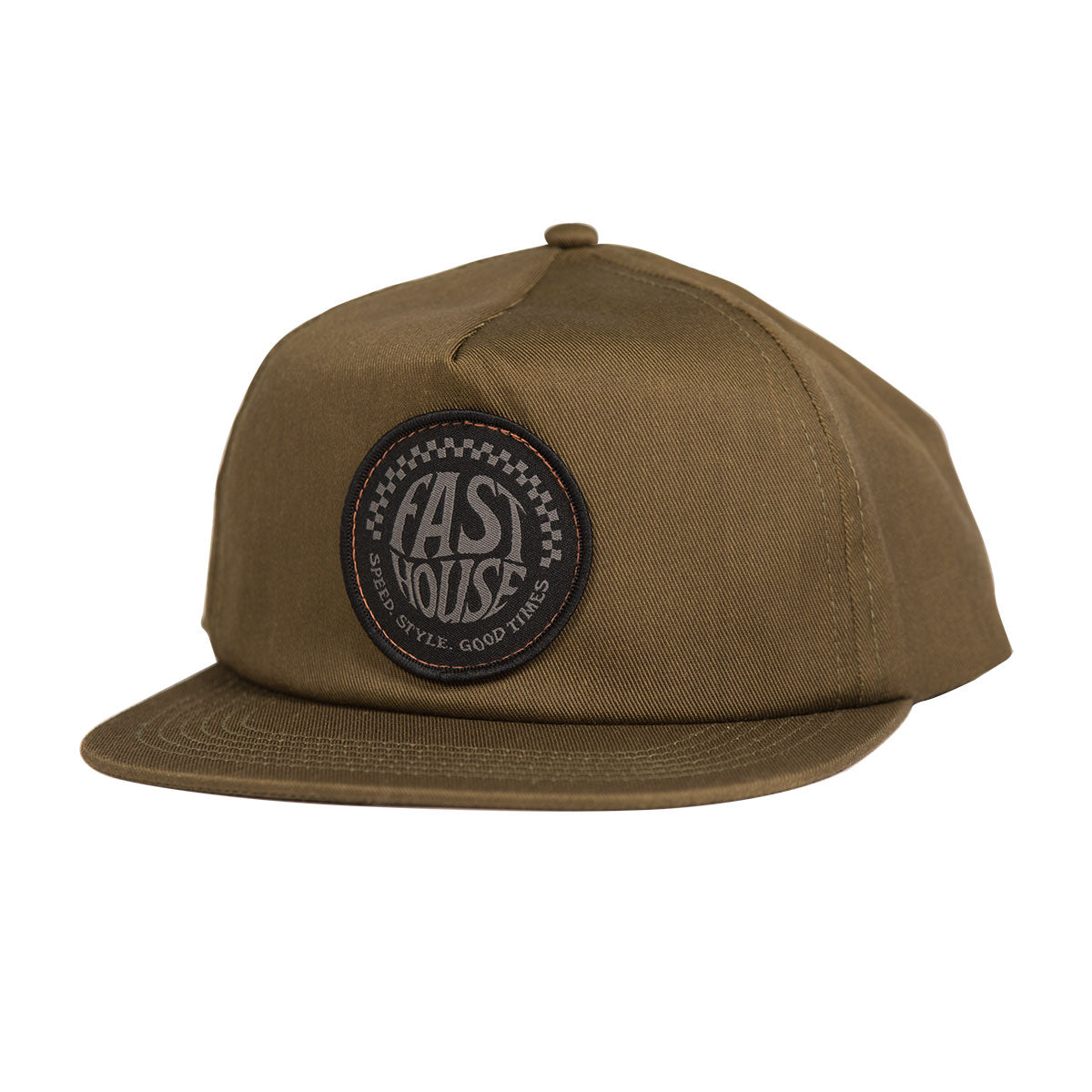 Fasthouse - Stamped Spade Hat - Olive