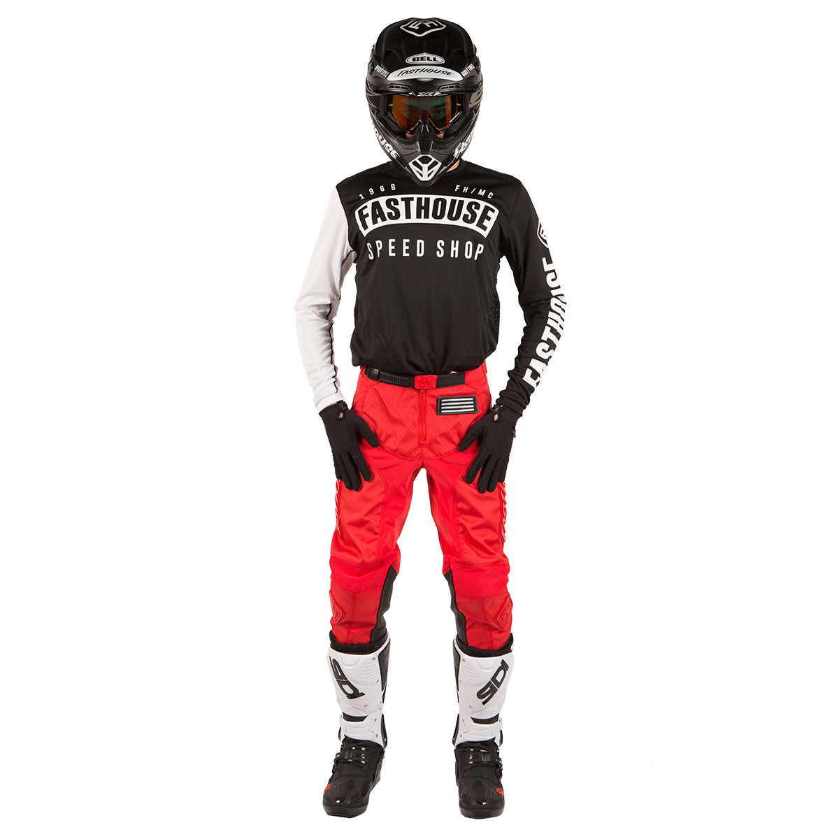 Fasthouse - Grindhouse Pant - Solid Red