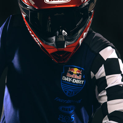 Fasthouse - Red Bull Day in the Dirt 21 Jersey - Navy/Checker