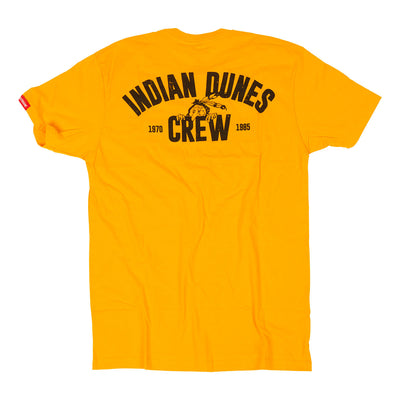 Fasthouse - Indian Dunes Crew Tee - Yellow