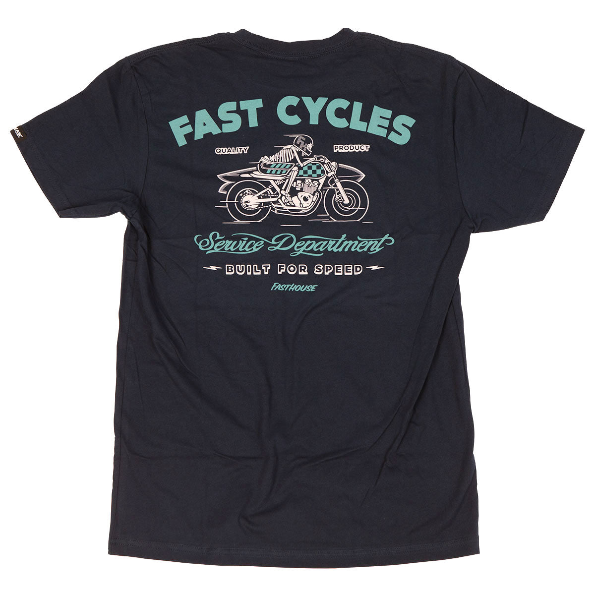 Fasthouse - Boneyard Tee - Navy