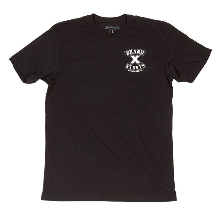 Fasthouse Brand X Crew Tee Black