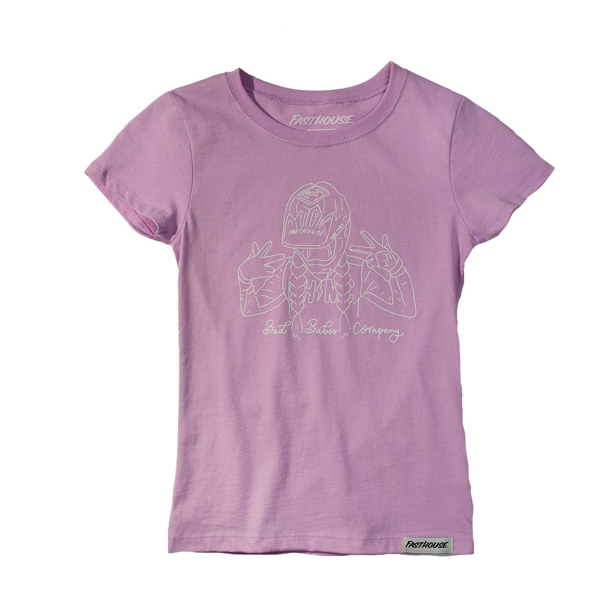 Fasthouse - Adorn Girls Tee - Lilac