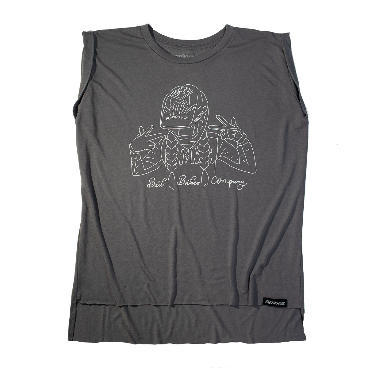 Fasthouse - Adorn Womens Muscle Tank - Storm