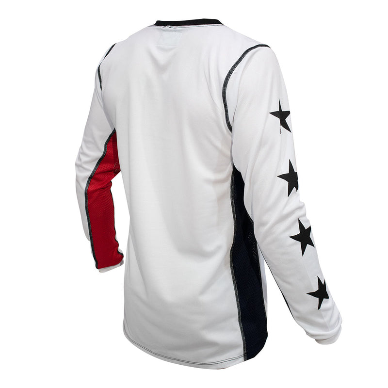 American Jersey - White