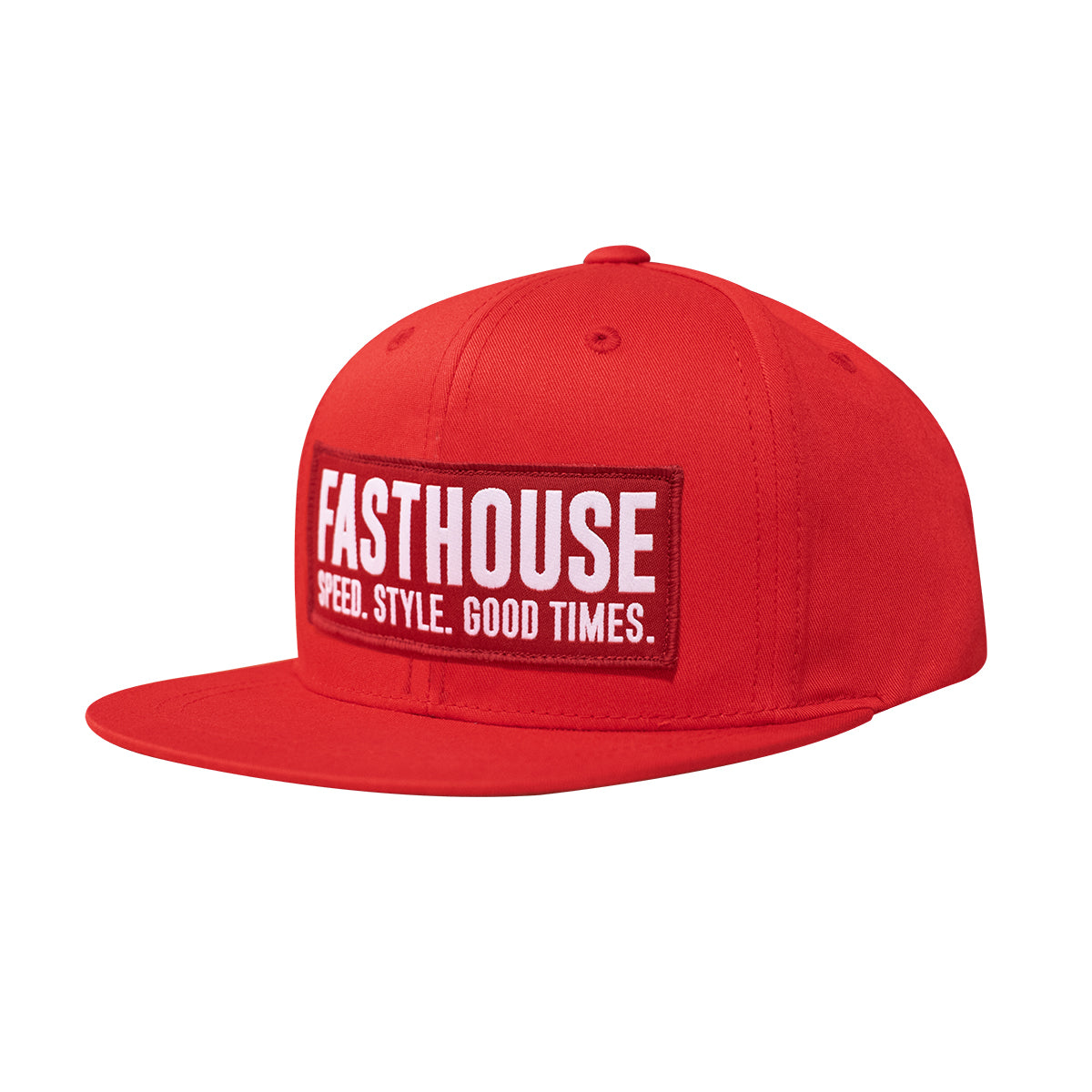 Fasthouse - Blockhouse Youth Hat - Red