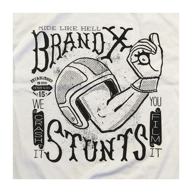 Brand X Ride Like Hell White