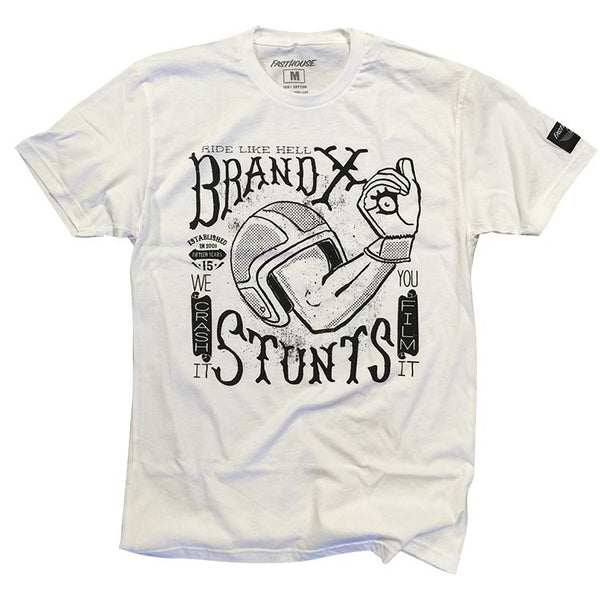 Brand X Ride Like Hell - White