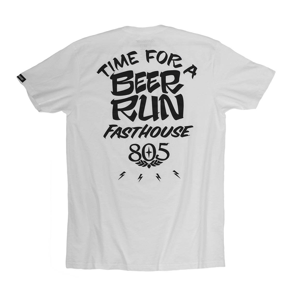 805 Beer Run Tee - White
