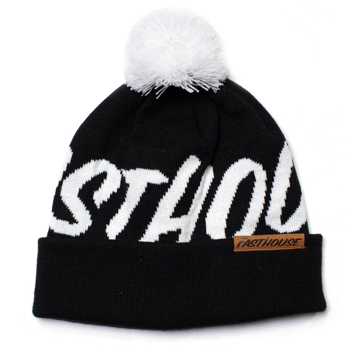 Fastball Beanie - Black/White