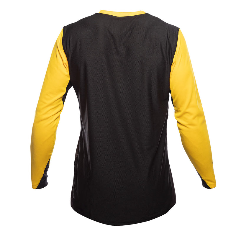 Alloy Block LS Jersey - Yellow/Black