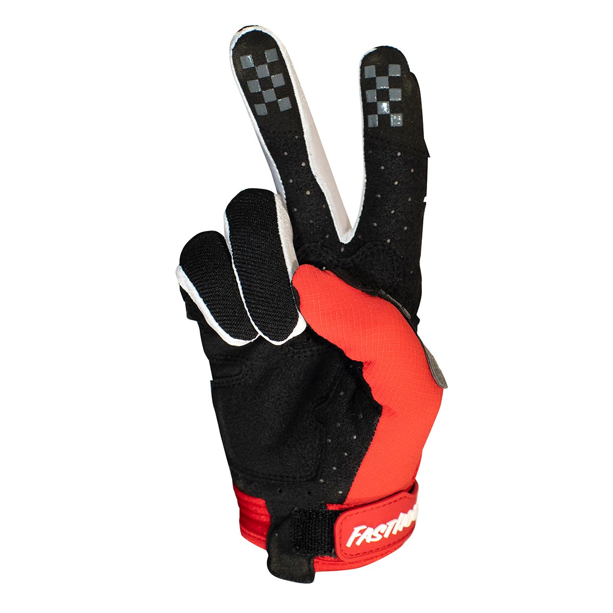 Fasthouse - Bronx Glove - Red/Black