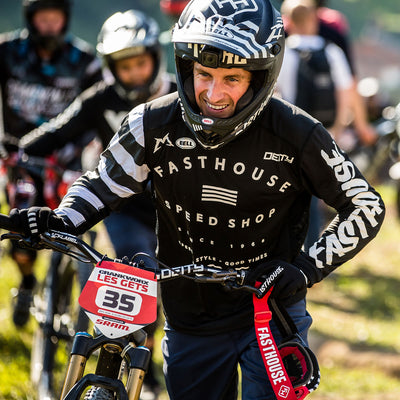 Fasthouse - Fastline Speed Shop MTB Jersey - Black