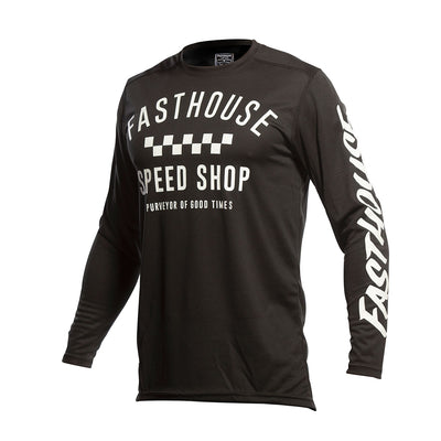 Fasthouse Carbon Youth Jersey- Black