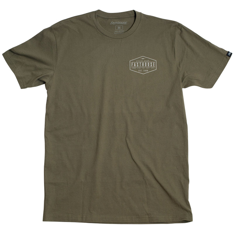 Charged Tee - Forest Green