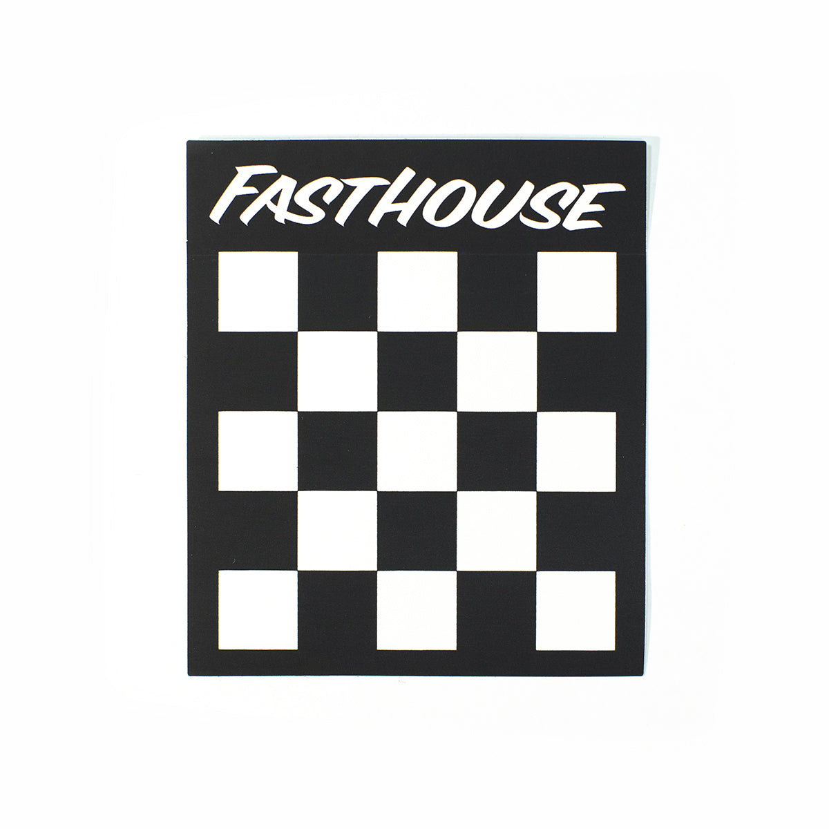 Fasthouse - Checkers Sticker