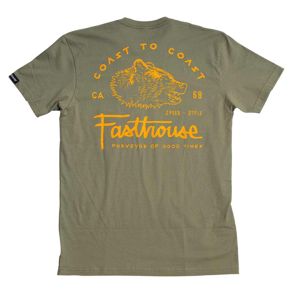 Coast to Coast Tee - Light Olive