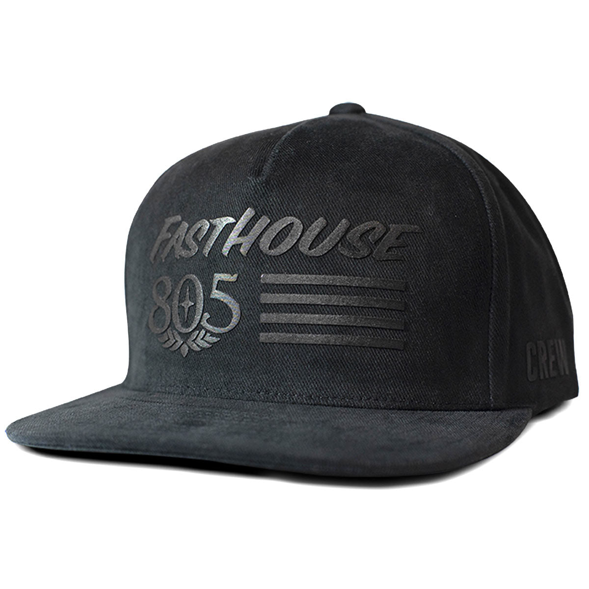 805 Crew Only Hat - Black