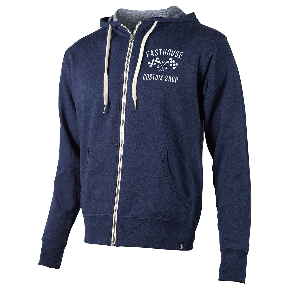 Fasthouse - Custom Shop Zip Up Hoodie - Navy
