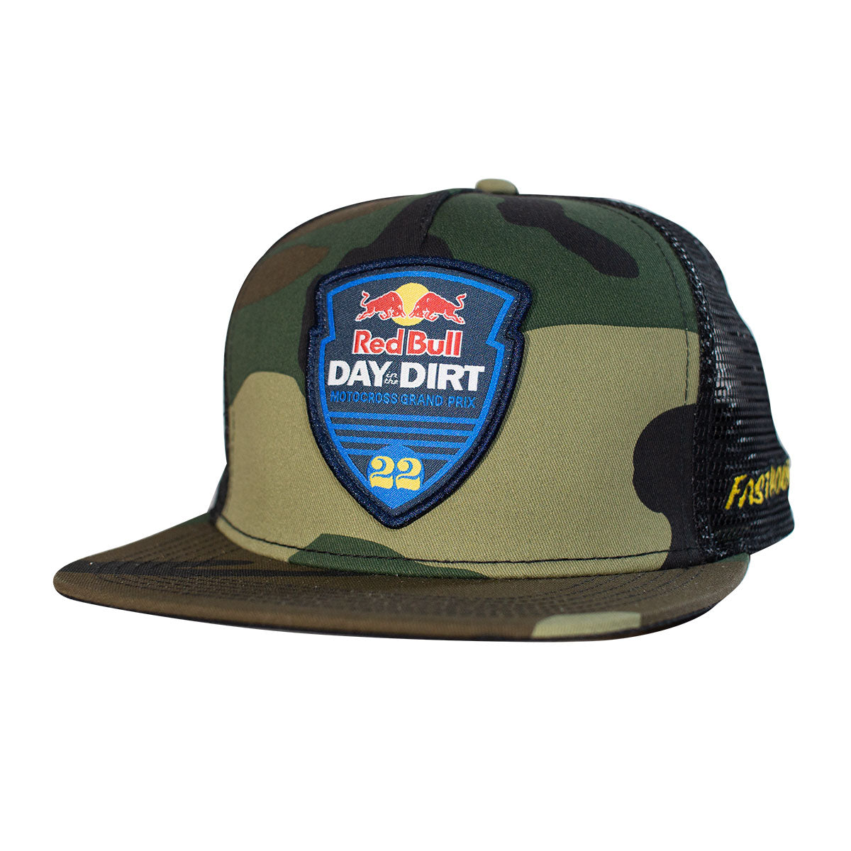 Fasthouse - Red Bull Day in the Dirt 22 Hat - Camo