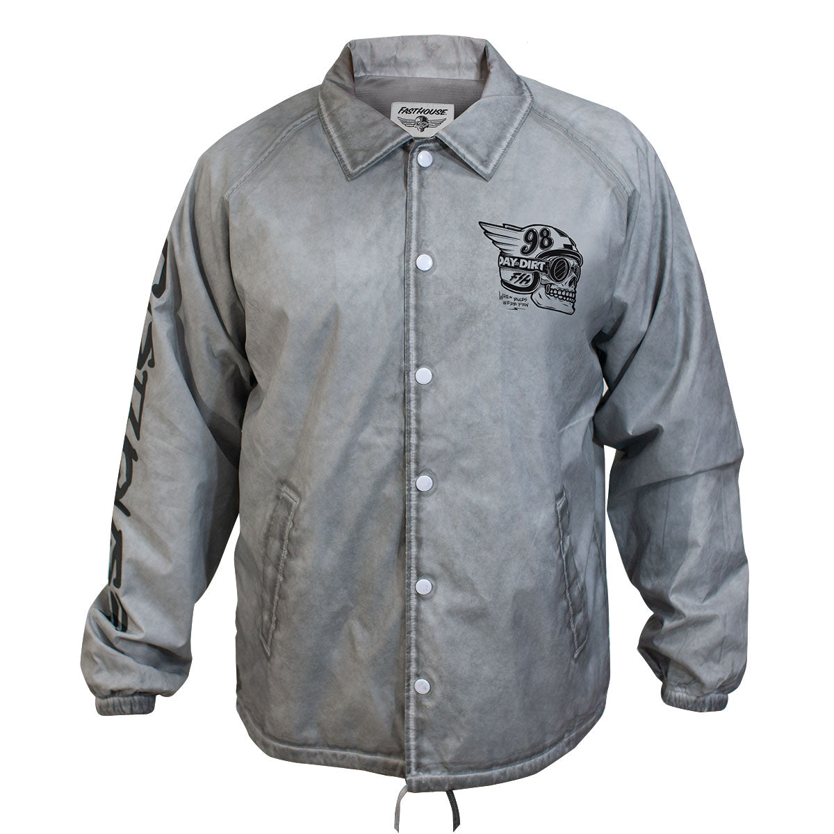 Fasthouse - Day in the Dirt Victory Jacket - Vintage Silver