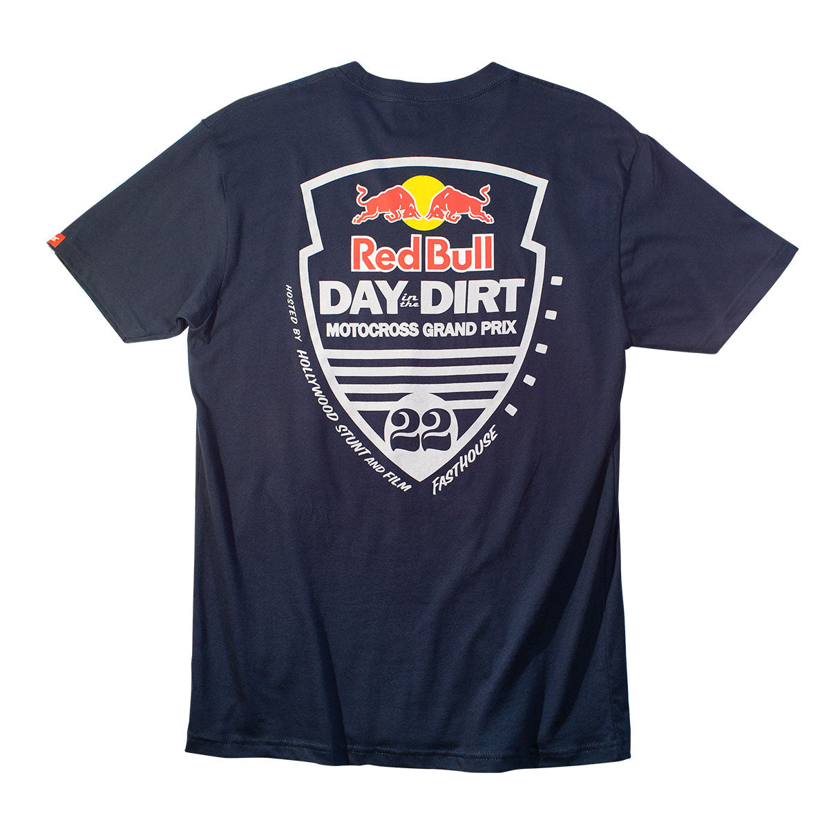Fasthouse - Red Bull Day in the Dirt 22 Tee - Navy