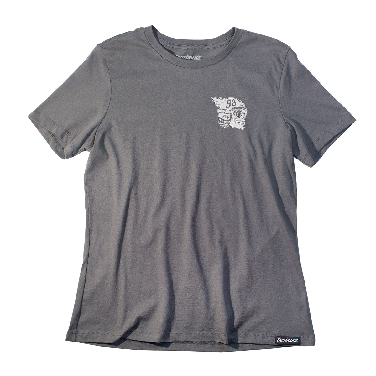 Fasthouse - Day in the Dirt Victory Womens Tee - Asphalt